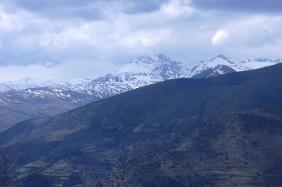 Vista del Montsent de Pallars del Pic de l'Orri